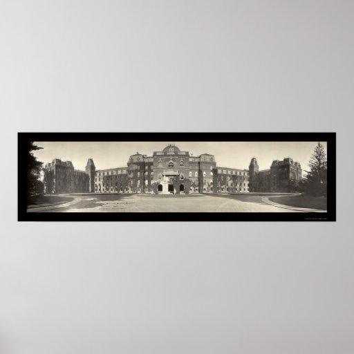 Vassar College Photo 1909 Poster