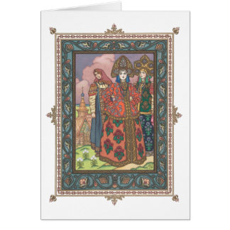 Vassilissa the Beautiful Russian Folktale Card