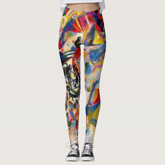 Vassily Kandinsky abstract art leggings