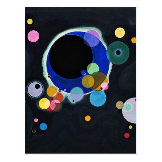 Vassily Kandinsky Several Circles Postcard