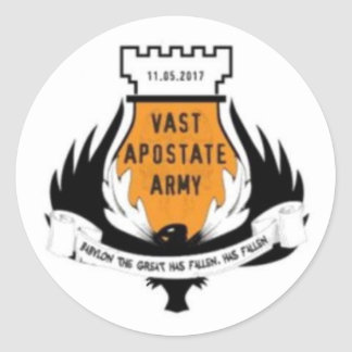 Vast Apostate Army Sticker