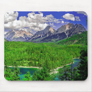 Vast Evergreen Mountain Mouse Pad