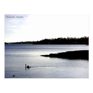 Västervik skärrgård Sweden Postcard