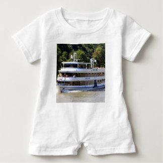 Vater Rhein tour boat, Germany Baby Romper