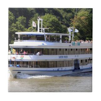 Vater Rhein tour boat, Germany Tile