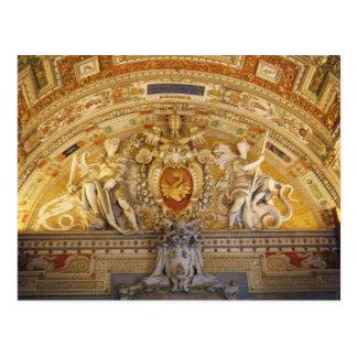 Vatican Ceiling I Postcard