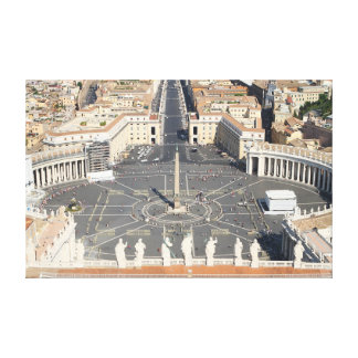Vatican City and St. Peter Square Canvas Print