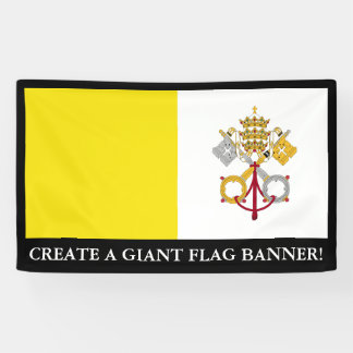 Vatican City flag Banner