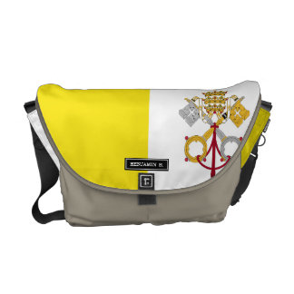 Vatican City flag Commuter Bag