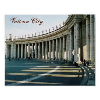 """Vatican City, Italy"" Poster"