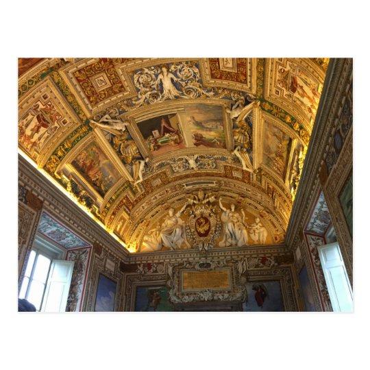 Vatican City Library Postcard