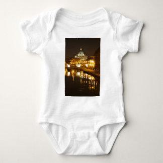 Vatican city, Rome, Italy at night Baby Bodysuit