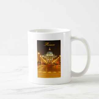 Vatican city, Rome, Italy at night Coffee Mug