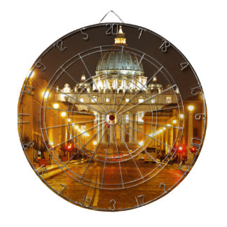 Vatican city, Rome, Italy at night Dartboard