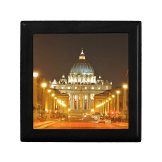 Vatican city, Rome, Italy at night Gift Box