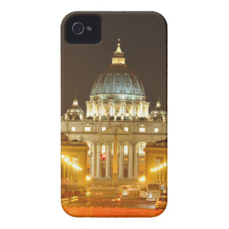 Vatican city, Rome, Italy at night iPhone 4 Covers