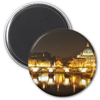 Vatican city, Rome, Italy at night Magnet