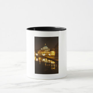 Vatican city, Rome, Italy at night Mug
