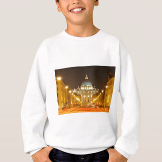 Vatican city, Rome, Italy at night Sweatshirt