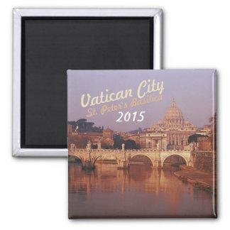 Vatican City St Peters Fridge Magnet Change Year