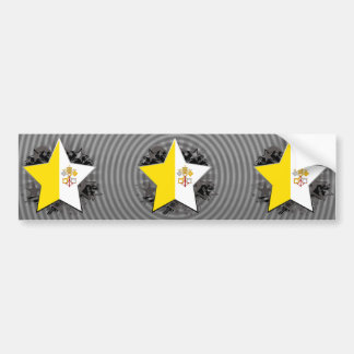Vatican City Star Bumper Sticker