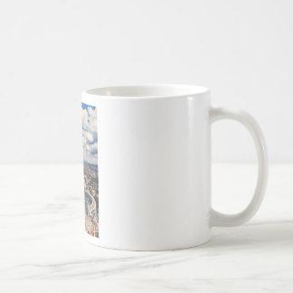 Vatican city top view coffee mug