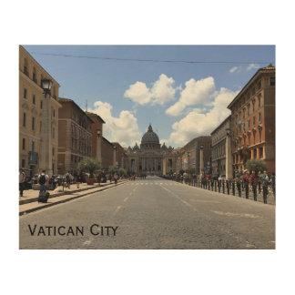 Vatican City Wall Art Wood Canvases