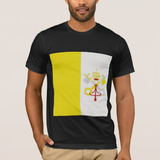 Vatican City's (Holy City) Flag T-Shirt