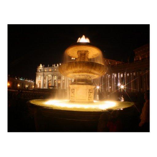Vatican fountains, Bernini