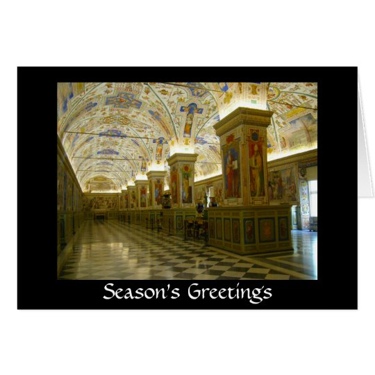vatican greetings card