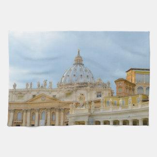 Vatican in Rome Italy Hand Towel