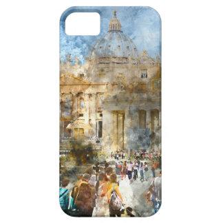 Vatican in  Rome Watercolor iPhone 5 Case