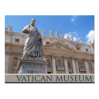 Vatican museum postcard