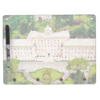 Vatican painting dry erase board with keychain holder