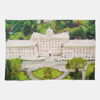 Vatican painting kitchen towel