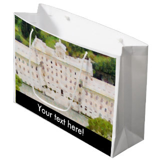 Vatican painting large gift bag
