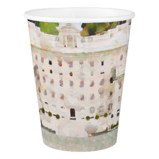 Vatican painting paper cup