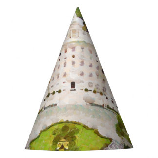 Vatican painting party hat