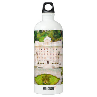 Vatican painting water bottle