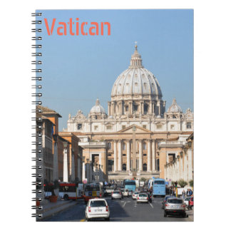 Vatican, Rome, Italy Notebook