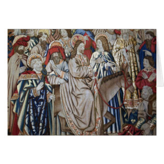Vatican Tapestry Card