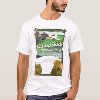 Vatnajökull National Park Iceland T-Shirt