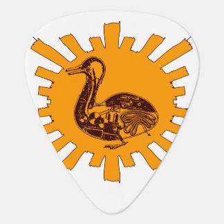 Vaucanson's Duck Guitar Pick