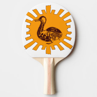 Vaucanson's Duck Ping Pong Paddle