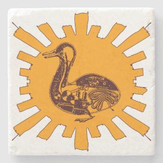Vaucanson's Duck Stone Coaster