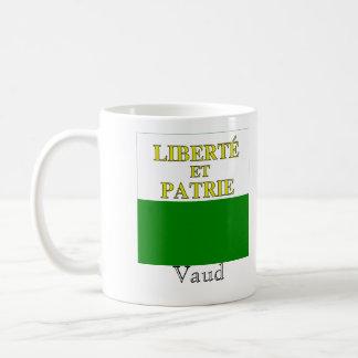 Vaud, Suisse Drapeau Flags Coffee Mug