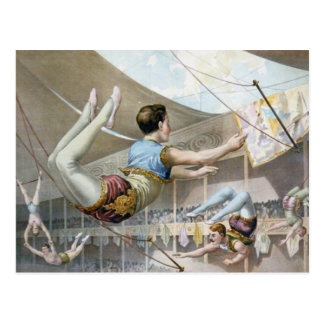 Vaudeville, Circus shows Postcard