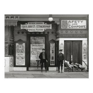 Vaudeville Theater, 1910 Postcard