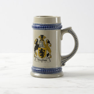 Vaughan Coat of Arms Stein - Family Crest