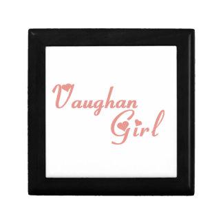 Vaughan Girl Keepsake Box